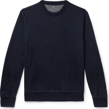 Brunello Cucinelli Cashmere-Blend Sweatshirt