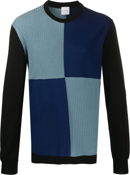 Paul Smith Checked knitted jumper