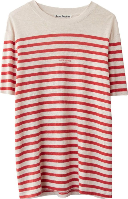 Acne Studios Linen Striped Tee