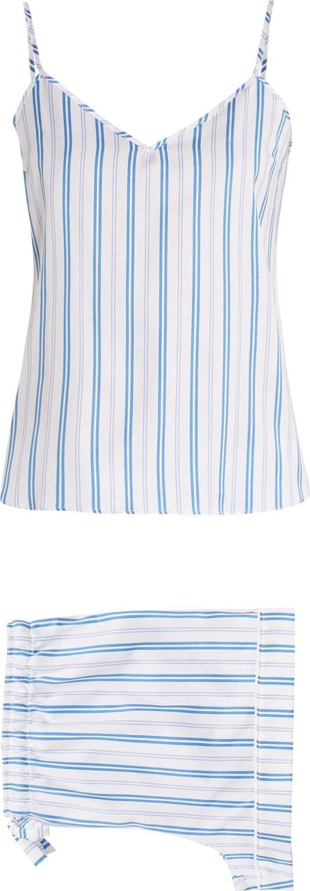 Derek Rose Wellington 46 striped-cotton pyjamas