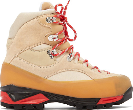 Ganni Sarai high-top suede hiking boots