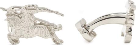 Burberry London England Equestrian knight cufflinks