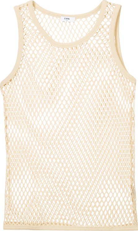 Cmmn Swdn Net fitted tank top