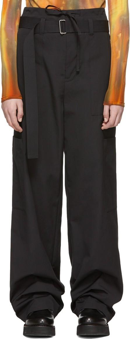 Ambush Black Cargo Trousers