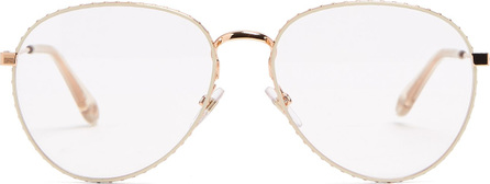 Givenchy Round-frame metal glasses