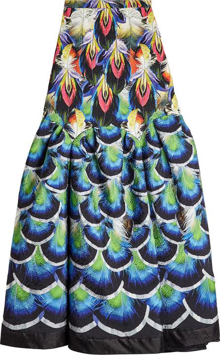 Mary Katrantzou Parakeet Printed Skirt