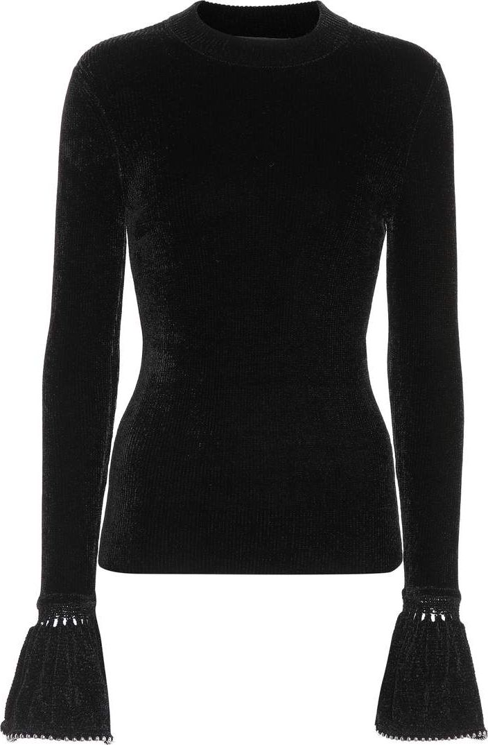 Alexander Wang - Embellished knit top