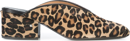 Laurence Dacade Leopard print mules
