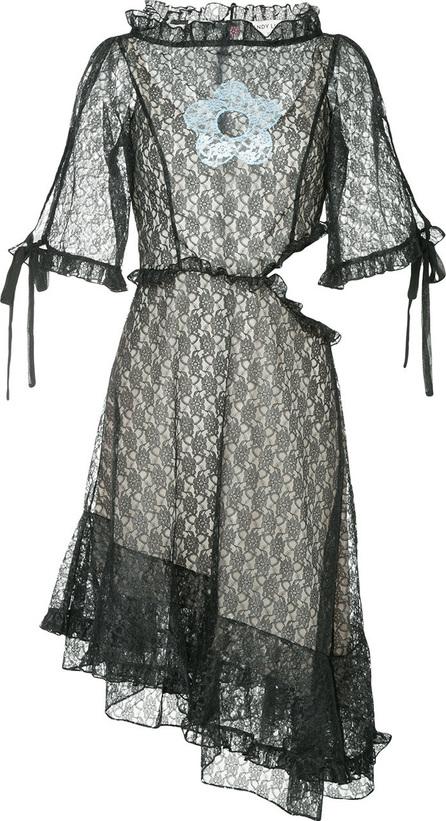 Sandy Liang Asymmetric hem lace dress