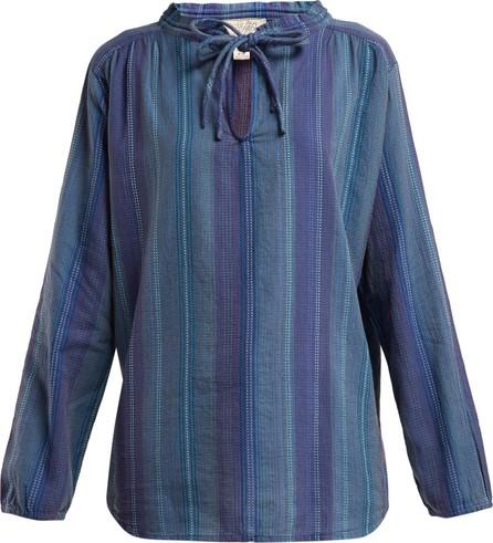 ace&jig Mia tie-neck cotton top
