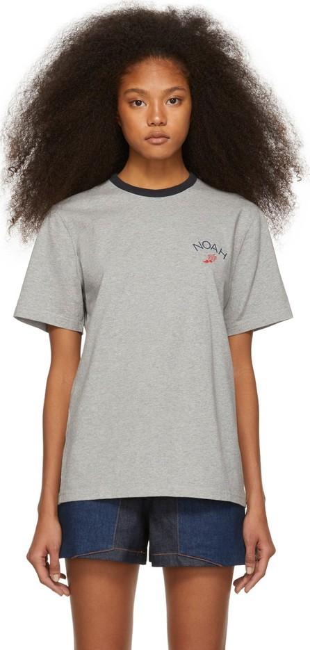 Noah NYC Grey Winged Foot T-Shirt