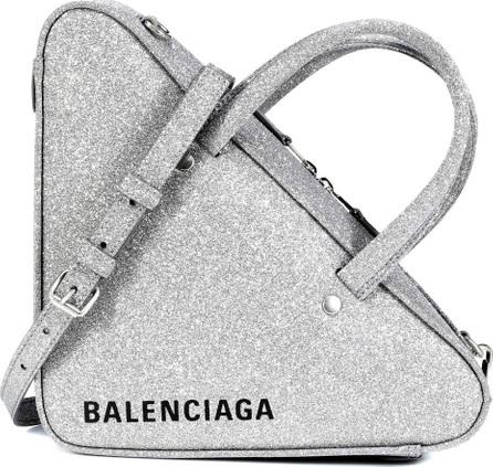 Balenciaga Triangle Duffle XS glitter tote