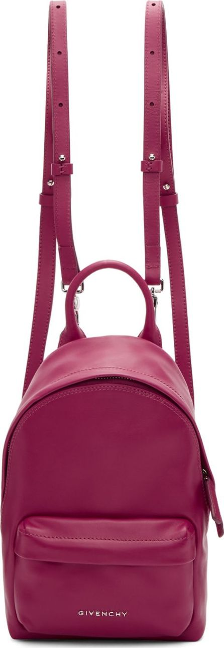 Givenchy Pink Leather Nano Backpack