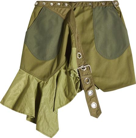 Marques'Almeida Patchwork Printed Wrap Skirt