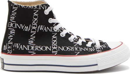 Converse x JW Anderson Chuck Taylor 70 logo-print high-top trainers
