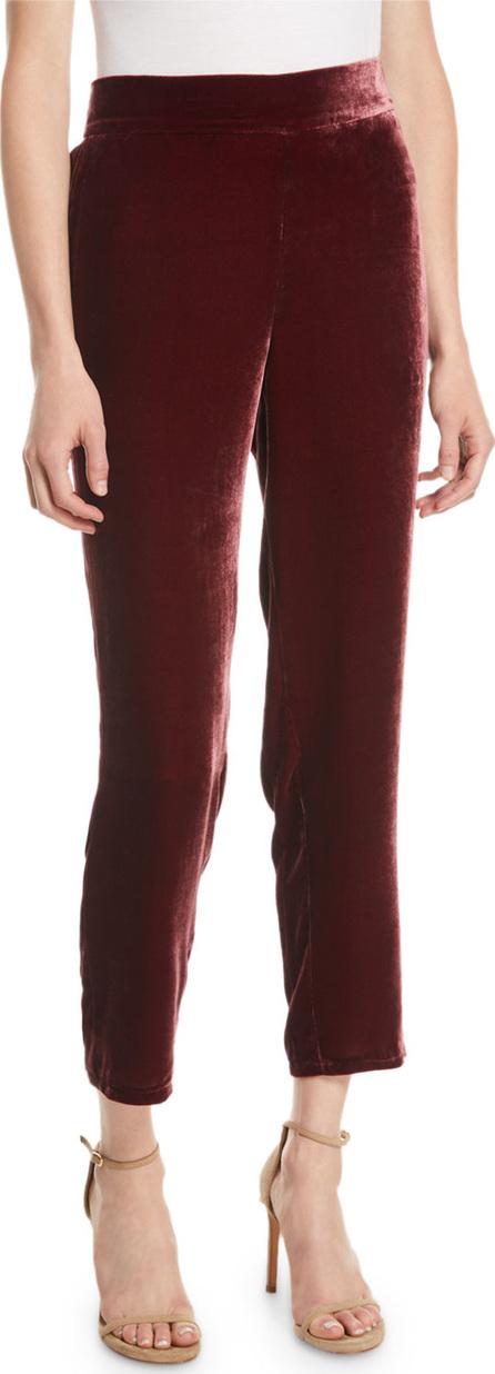 Eileen Fisher Velvet Ankle Trousers, Plus Size