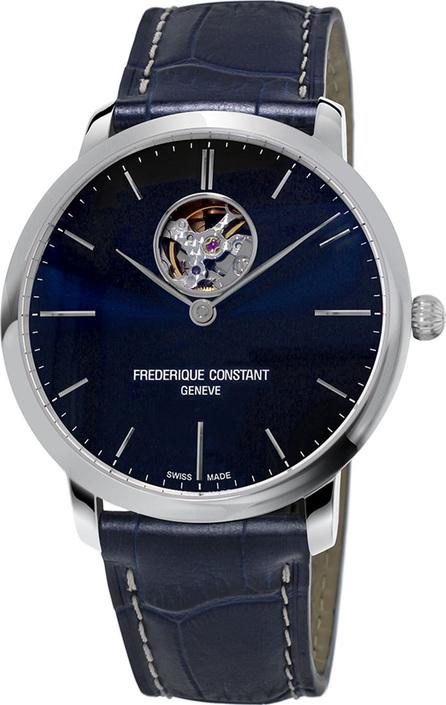 Frederique Constant 40mm Men's Slimline Automatic Heart Beat Watch
