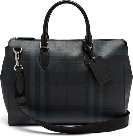 Burberry London England London-check leather tote