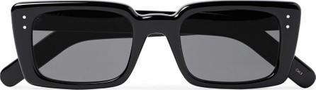 Gucci Rectangle-Frame Acetate Sunglasses