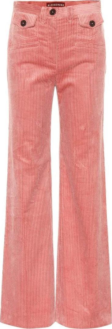 Alexachung pink corduroy pants