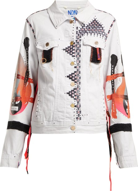 Noki Hand-painted denim jacket