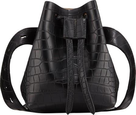 Nanushka Crocodile-Embossed Belt Bag