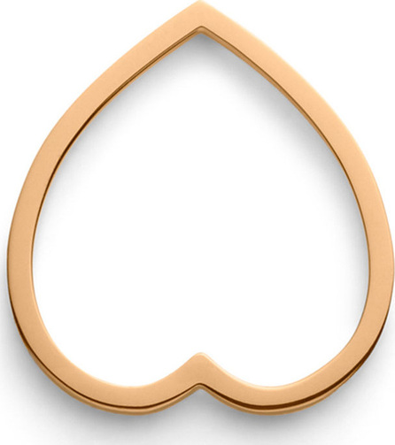 REPOSSI Antifer Heart Ring in 18K Gold