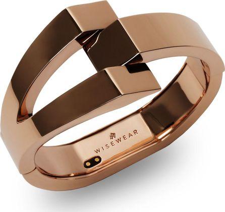 WiseWear Calder Smart Bracelet/Rose Goldtone