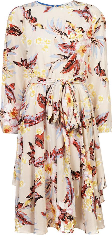DIANE von FURSTENBERG Belted floral dress