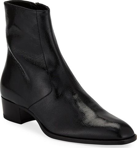 264dc07d5c7b Saint Laurent Dakota Polished-Leather Chelsea Boots - Mkt