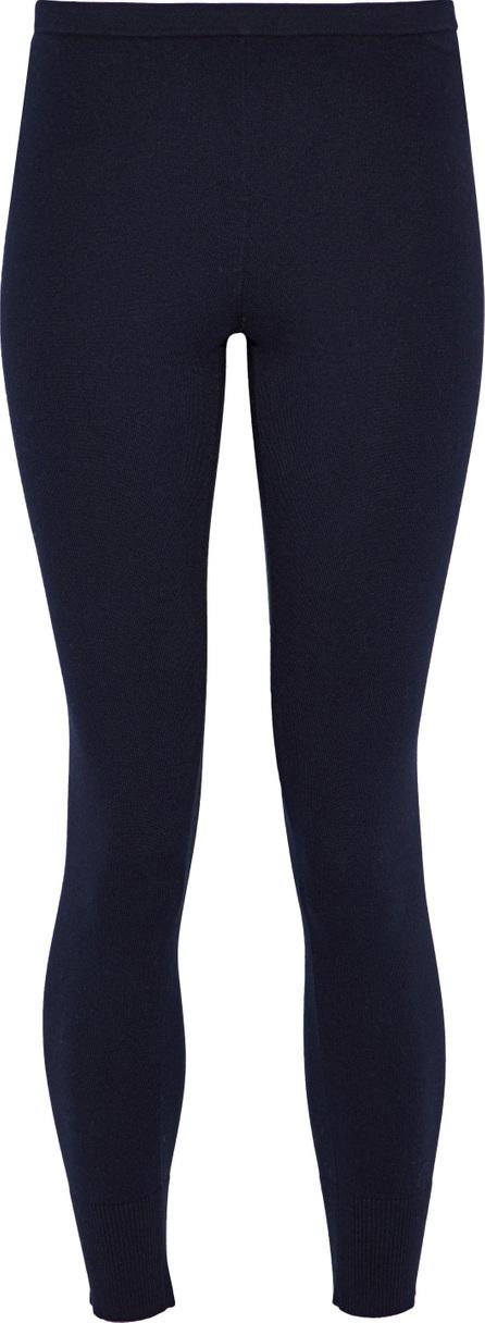 Vince Ribbed cotton-blend leggings