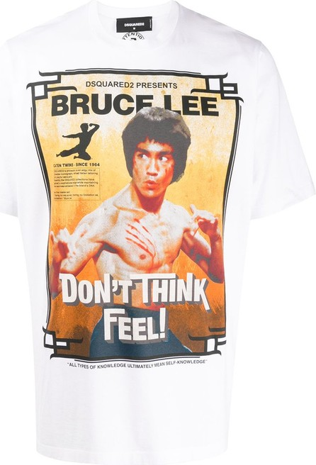 DSQUARED2 Bruce Lee slouch fit T-shirt