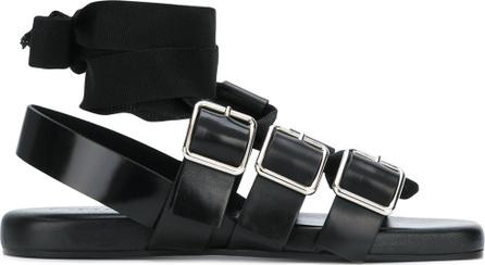 Jil Sander Ankle-wrap buckled sandals