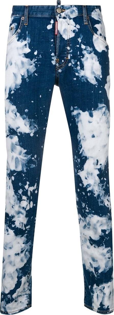 DSQUARED2 Skater tie-dye jeans