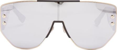 75495a0659eb1 Dior DiorAddict1 mirrored D-frame sunglasses
