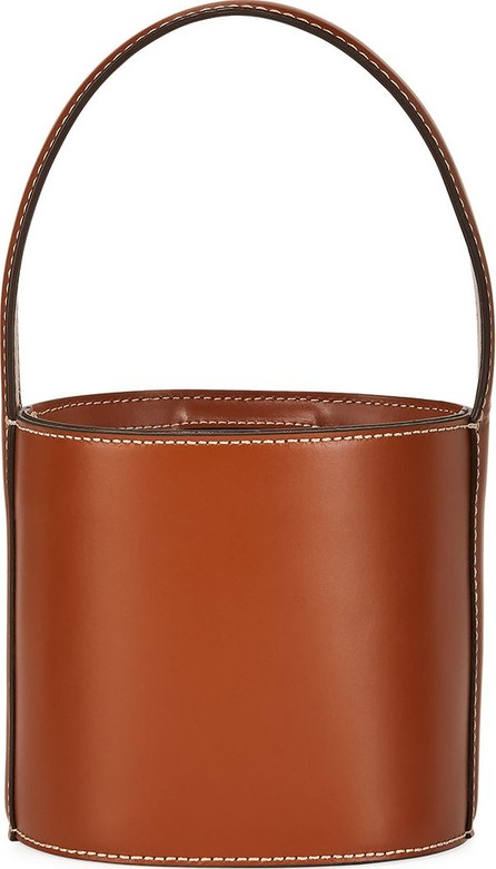 Staud Bissett Smooth Mini Bucket Bag
