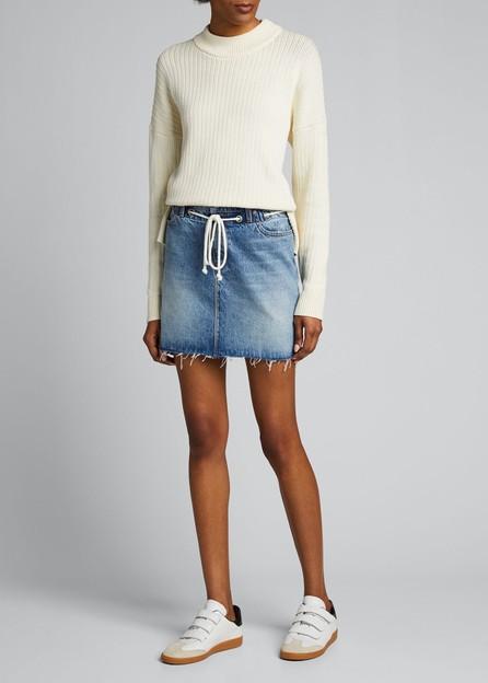 Hudson Grommet Detail Skirt