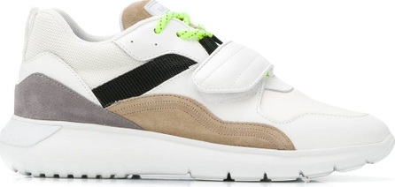 Hogan Panelled touch strap sneakers