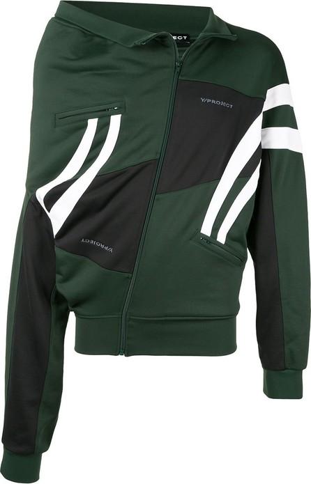 Y/Project Upside-down zip-up sweatshirt