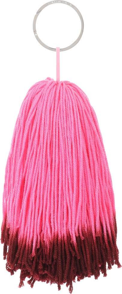 CALVIN KLEIN 205W39NYC Wool pompom bag charm ryzPxi4BH