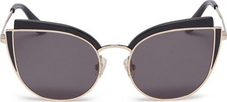 Stephane + Christian 'Inca Rose' contrast corner metal cat eye sunglasses