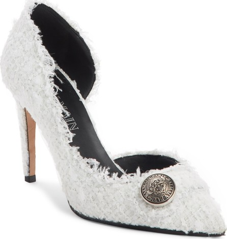 Balmain Julie Tweed d'Orsay Pump