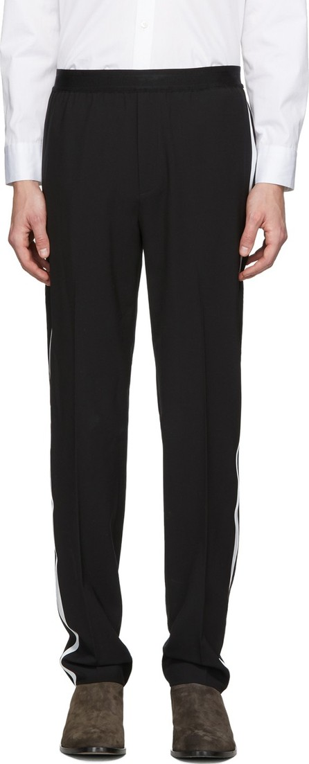 Helmut Lang Black Band Pull-On Trousers