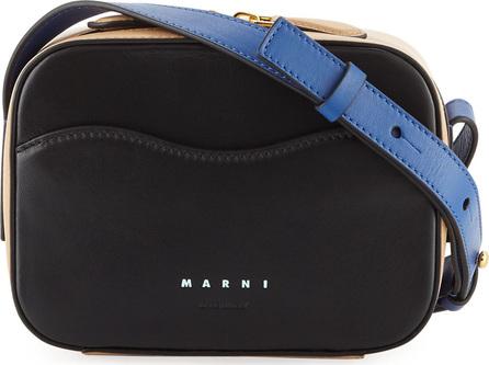 Marni Bandoleer Colorblock Shoulder Bag
