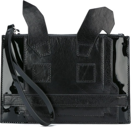 4f5cbba8617d8 McQ - Alexander McQueen Classic Red Knit Monster Tablet Pouch - Mkt