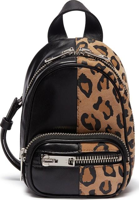 Alexander Wang 'Attica' mini leopard print suede leather crossbody backpack