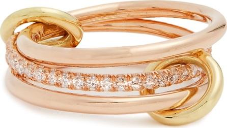 Spinelli Kilcollin Sonny diamond, yellow & rose-gold ring