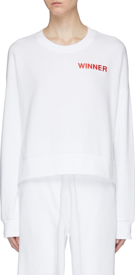 Aalto 'Winner' logo embroidered sweater
