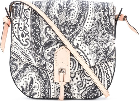 Etro paisley print bag with contrast details
