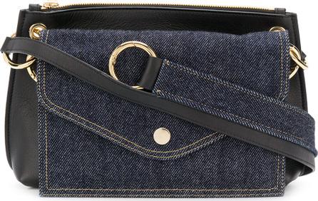 Sacai Panelled shoulder bag